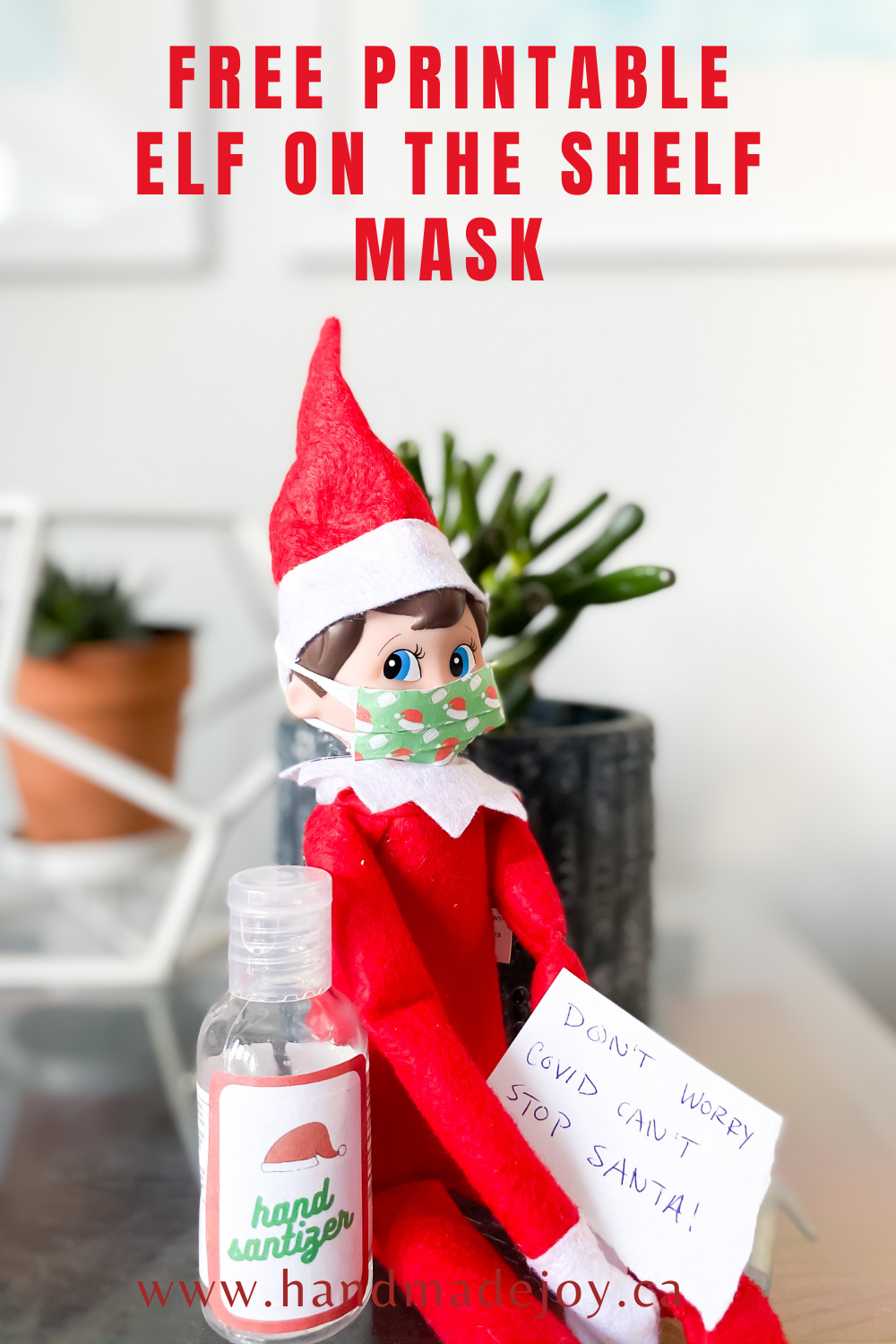 Elf on SHelf Mask